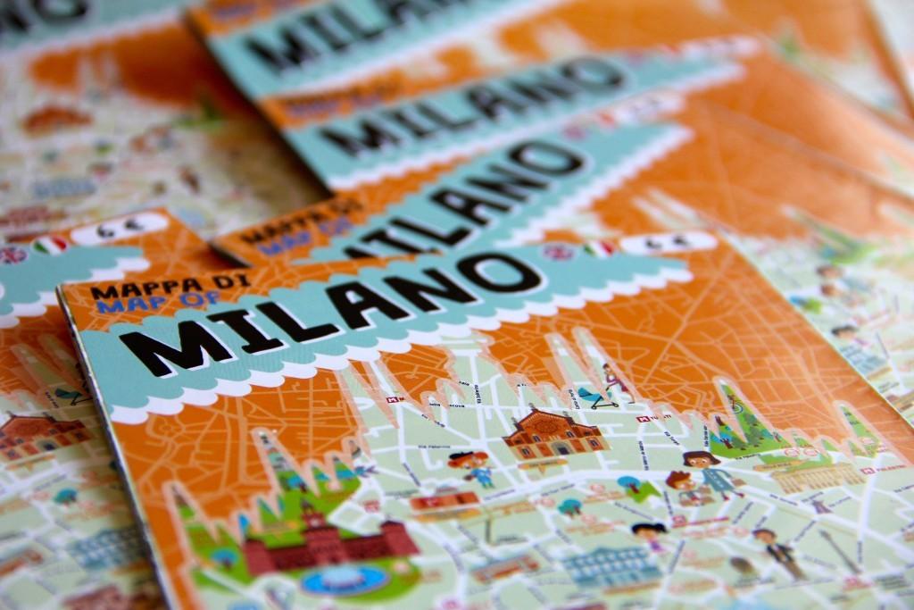 Italy for Kids | Mappa di Milano