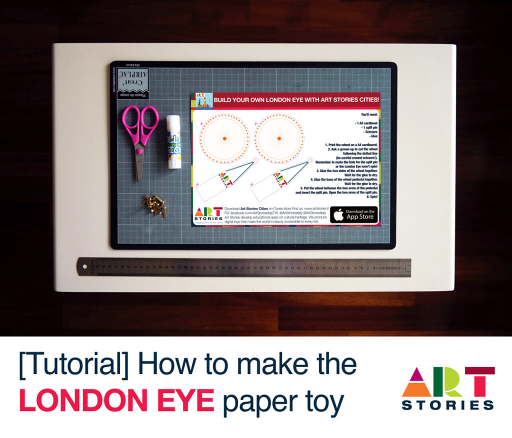 London Eye Paper Toy Tutorial